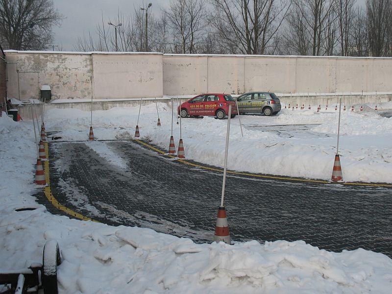 Kurs na prawo jazdy zimą